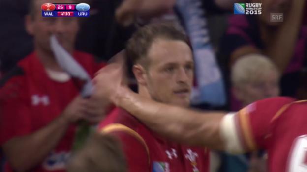 Video «Rugby: WM, Highlights Wales - Uruguay (unkommentiert)» abspielen
