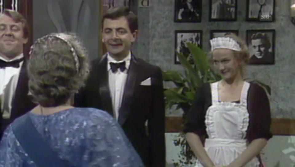 Mr.Bean von der Queen geehrt