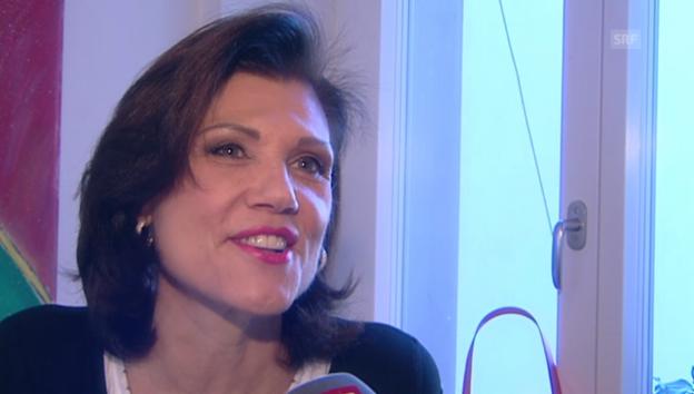 Video «Maja Brunner empfängt ihre Namensvetterin.» abspielen