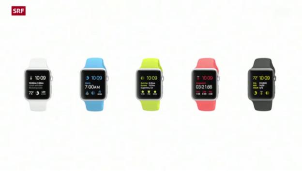 Video «Apples neue Smart Watch» abspielen