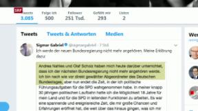 Video «SPD-Minister-Karussell» abspielen