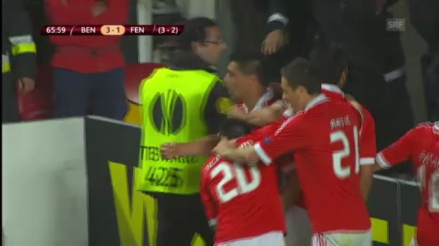 Video «Highlights Benfica - Fenerbahce» abspielen