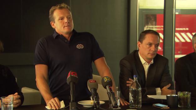 Video «Eishockey: Stellungnahme von Kevin Schläpfer» abspielen
