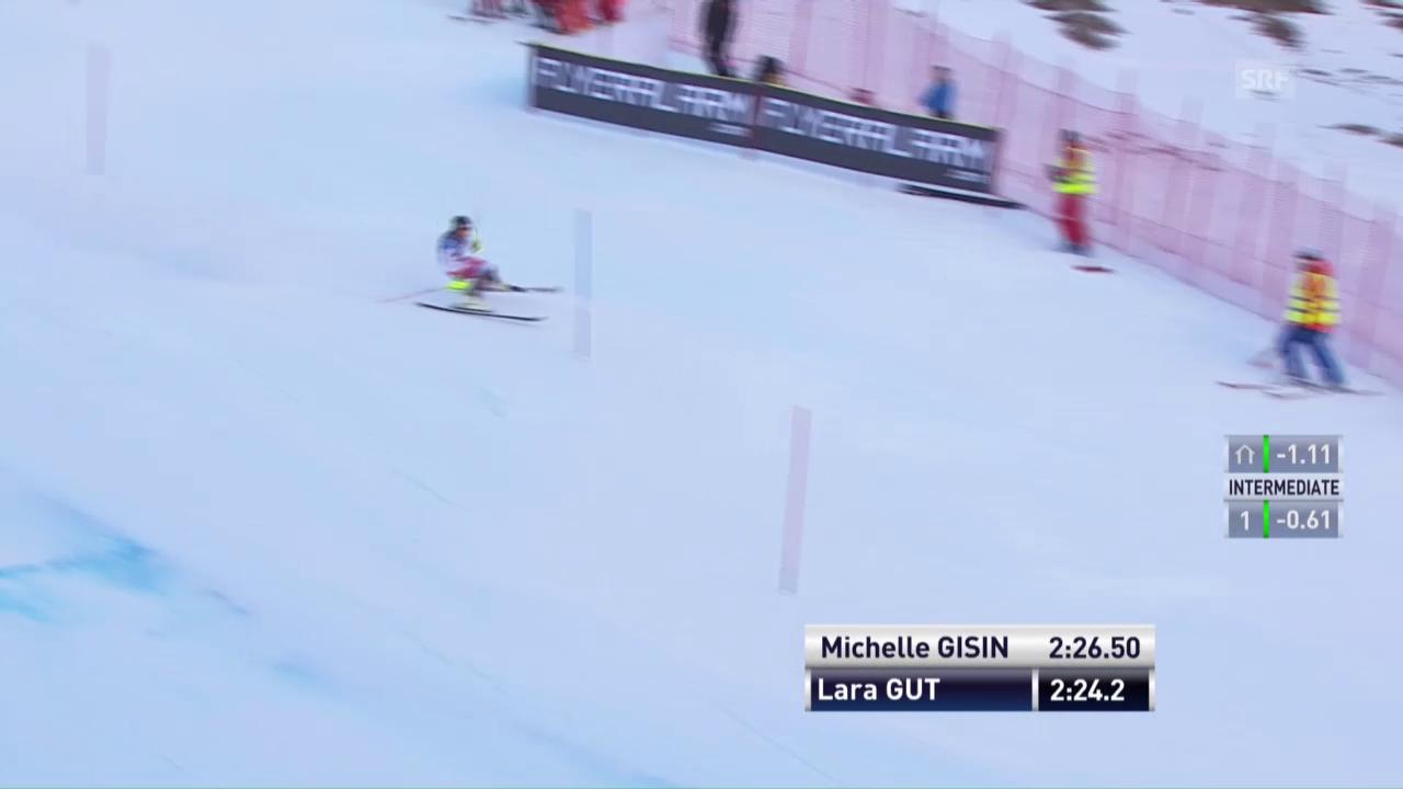 Das Slalom-Out von Lara Gut