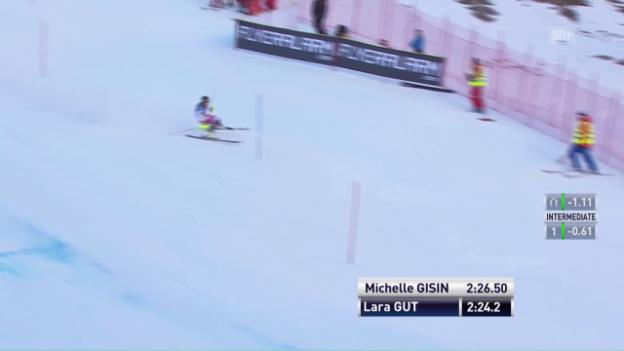 Video «Das Slalom-Out von Lara Gut» abspielen