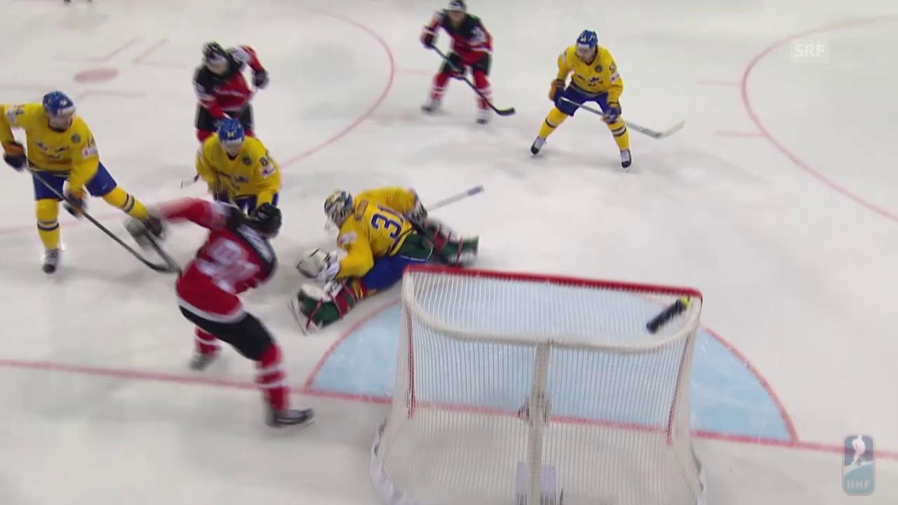 Eishockey-WM: Schweden - Kanada, die Tore