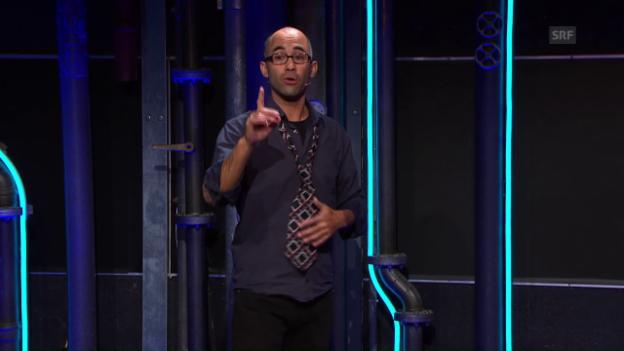 Video «Webexklusiv - Warm-Up von Simon Chen über die Meinungsfreiheit» abspielen
