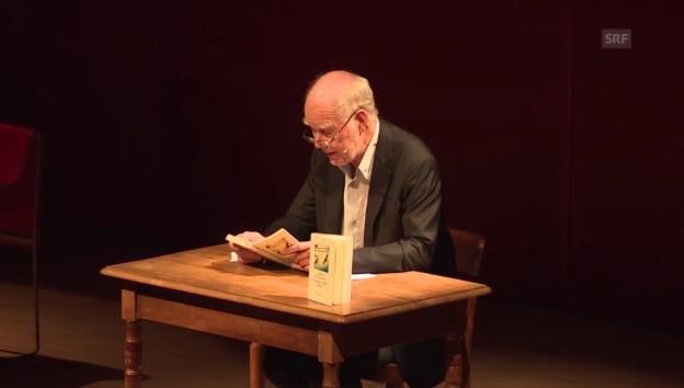 Video «Buchvernissage von Lukas Hartmann» abspielen