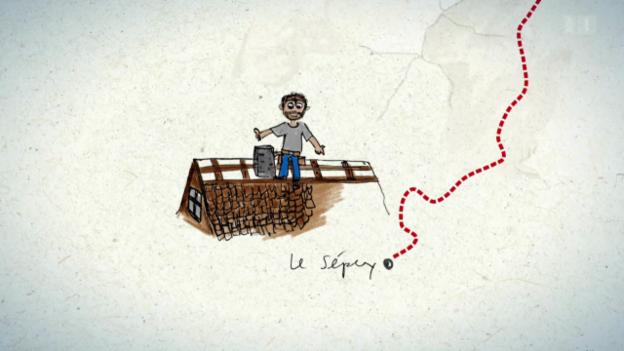 Video «2. Tag: L'Etivaz - Le Sépey» abspielen