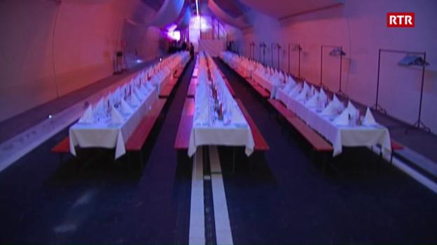 Laschar ir video «Cuntrasts da l'avertura dal tunnel da Flem»