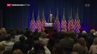 Video «Trump benutzt Terroranschlag für Wahlkampagne» abspielen