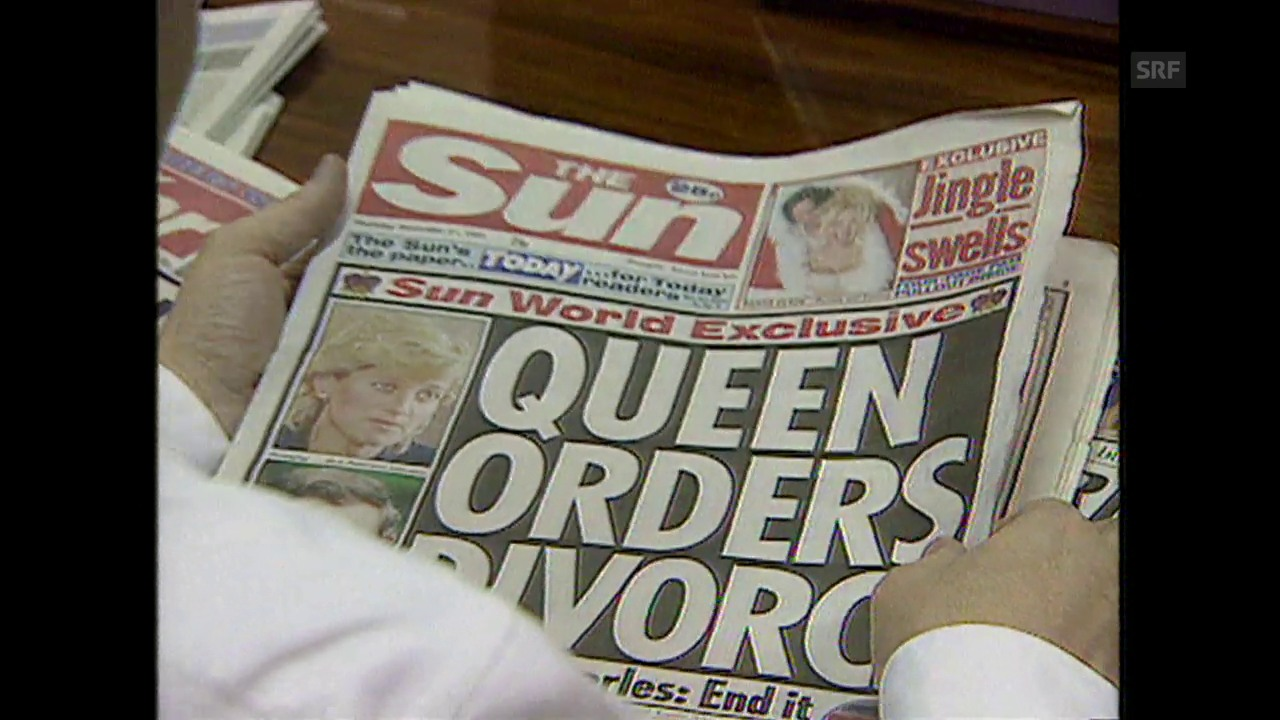 Diana und Charles: die Scheidung