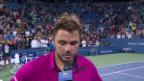 Video «Wawrinka im Platzinterview: «Hatte Mühe, mein bestes Spiel zu finden»» abspielen