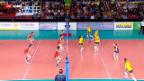 Video «Volleyball: Schweiz - Brasilien» abspielen