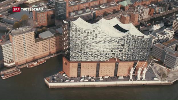 Video «Einweihung des Hamburger Architekturwunders» abspielen