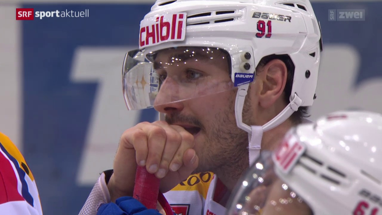 Eishockey: Genf - Kloten Flyers