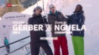 Video «Nguela vs. Gerber: Allein im Bob durch den Eiskanal» abspielen