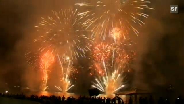 Royales Feuerwerk in Monaco (unkommentiertes Video)