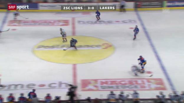 Video «NLA: ZSC Lions - Lakers» abspielen