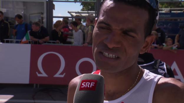 Video «Leichtathletik-EM: Interview mit Tadesse Abraham» abspielen