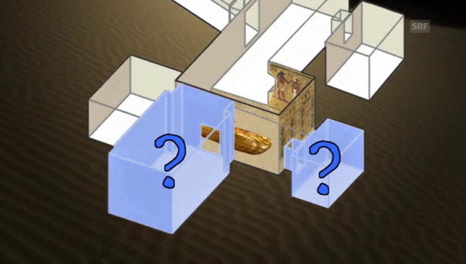 Geheime Kammern hinter Tutanchamuns Grab?