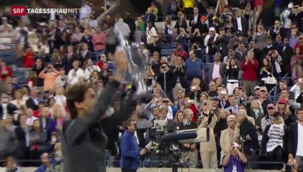 Video «Nadal gewinnt US-Open» abspielen