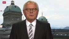 Video «Einschätzung von Bundeshausredaktor Hans Bärenbold» abspielen
