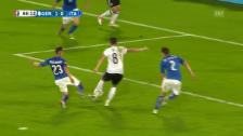 Video «Mesut Özil bricht den Bann» abspielen