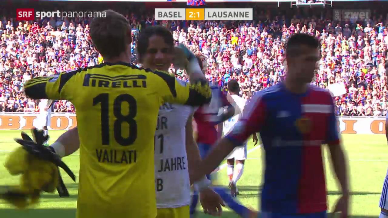 Fussball: Basel - Lausanne