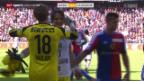Video «Fussball: Basel - Lausanne» abspielen