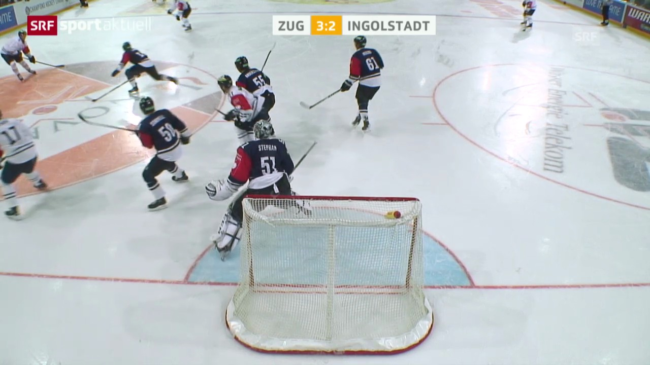 Eishockey: CHL, Zug - Ingolstadt