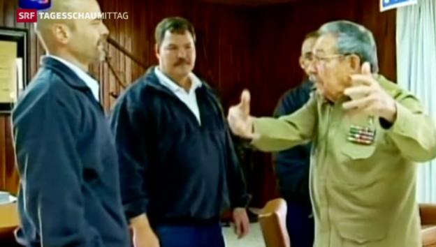 Video «Breite Zustimmung für Annäherung zu Kuba» abspielen