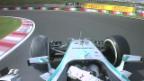 Video «Formel 1: Rosberg sichert sich die Pole Position» abspielen