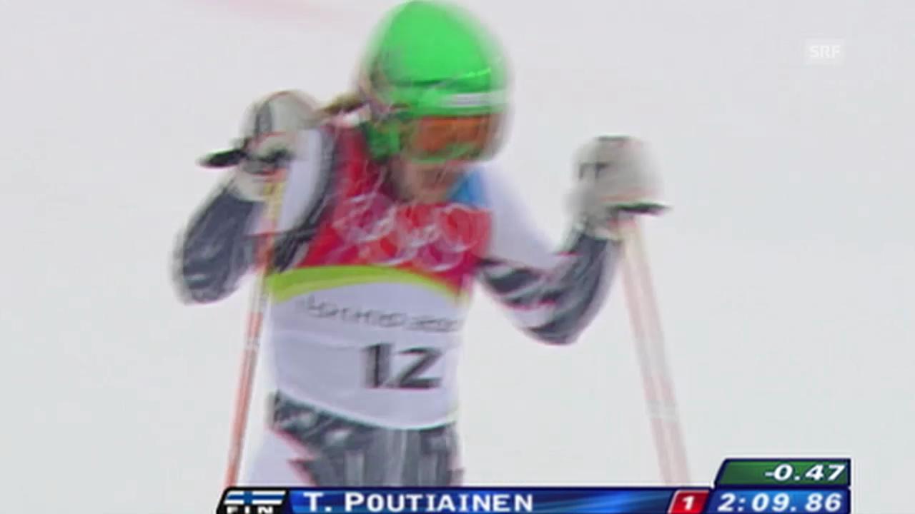 Torino 2006: Poutiainen holt Riesenslalom-Silber