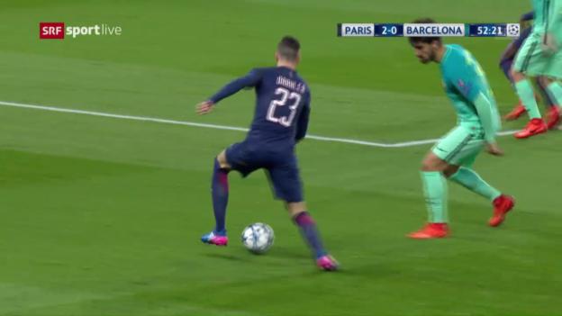 Video «Die Gala von Julian Draxler gegen Barça» abspielen