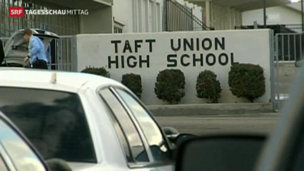 Video «Erneut Schüsse an einer US-Schule» abspielen