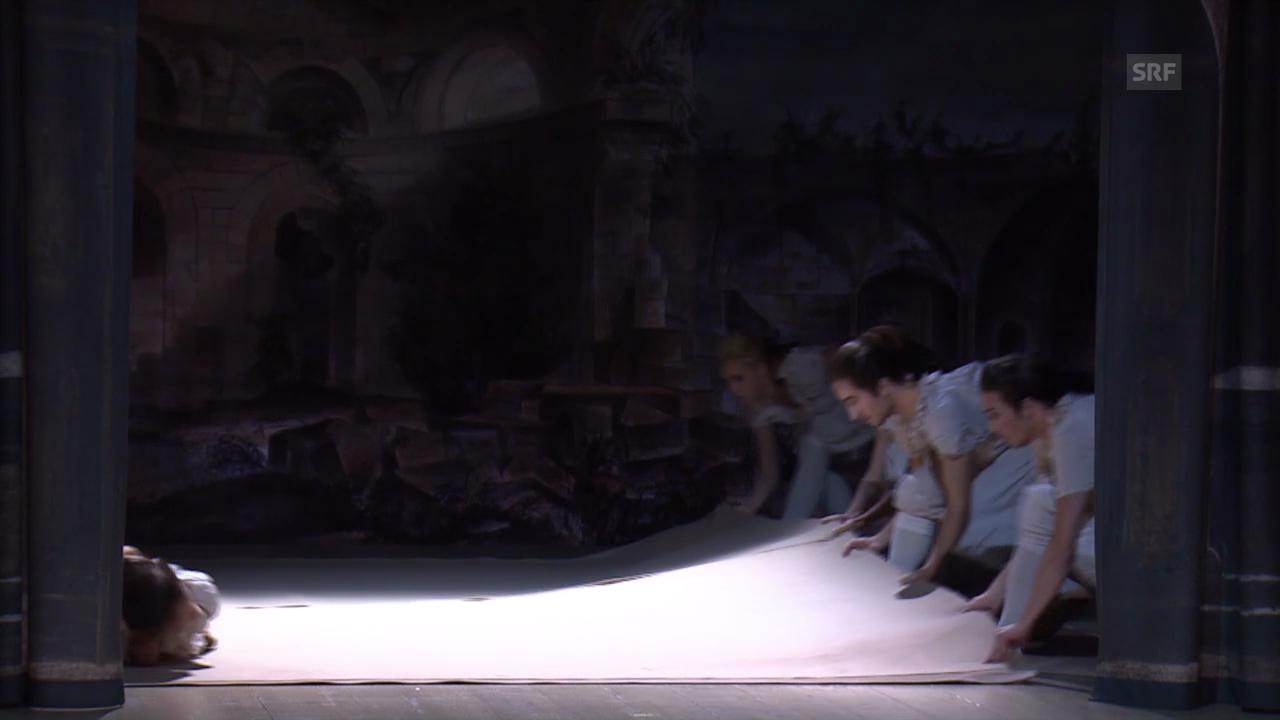 Don Juan im Luzerner Theater: Die Szenografie