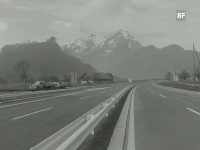 Aprilscherz von 1967 in der Sendung «Antenne»