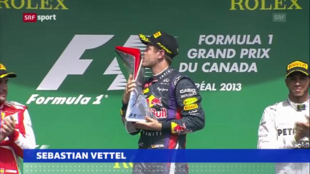 Video «Formel 1: Sebastian Vettel bleibt bei Red Bull («sportaktuell»)» abspielen