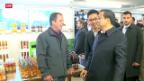 Video «Li Keqiang auf Staatsbesuch» abspielen