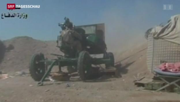 Video «Kurden-Offensive gegen IS-Miliz» abspielen