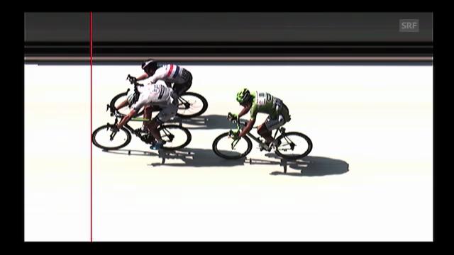 Rad: Schlussphase 12. Etappe Tour de France («sportlive»)