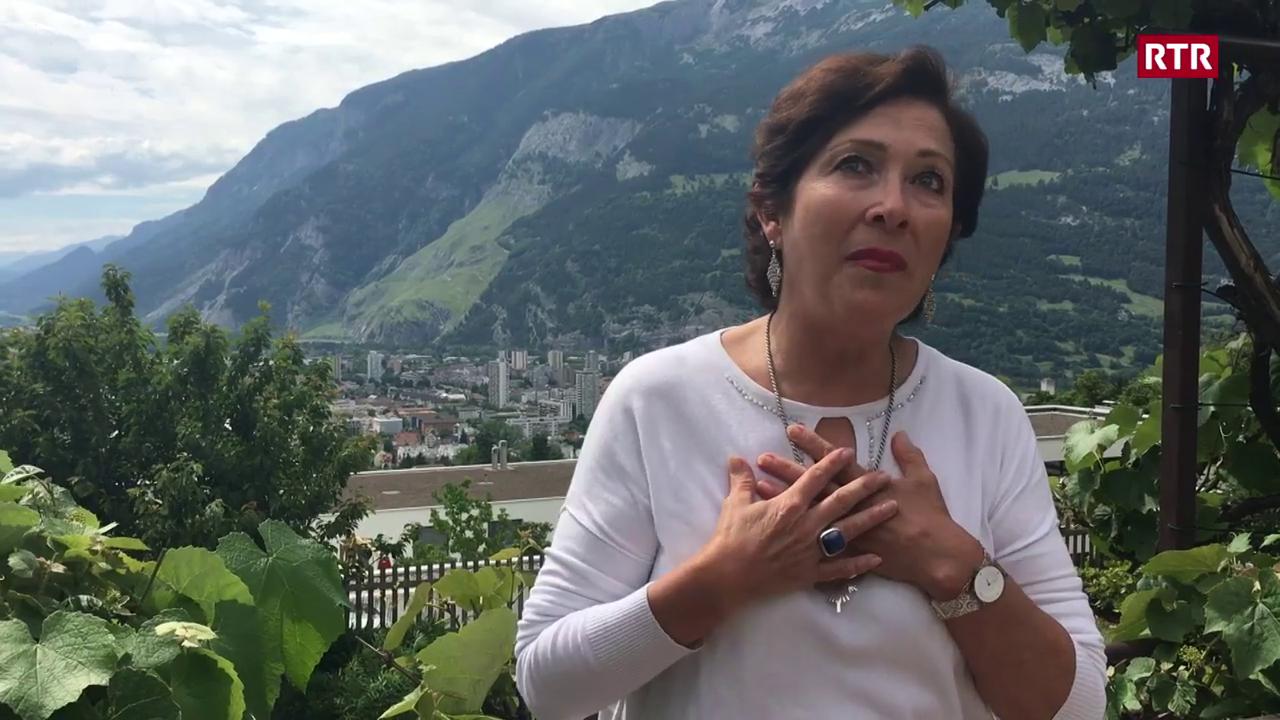 Patricia Lardi è dal Peru