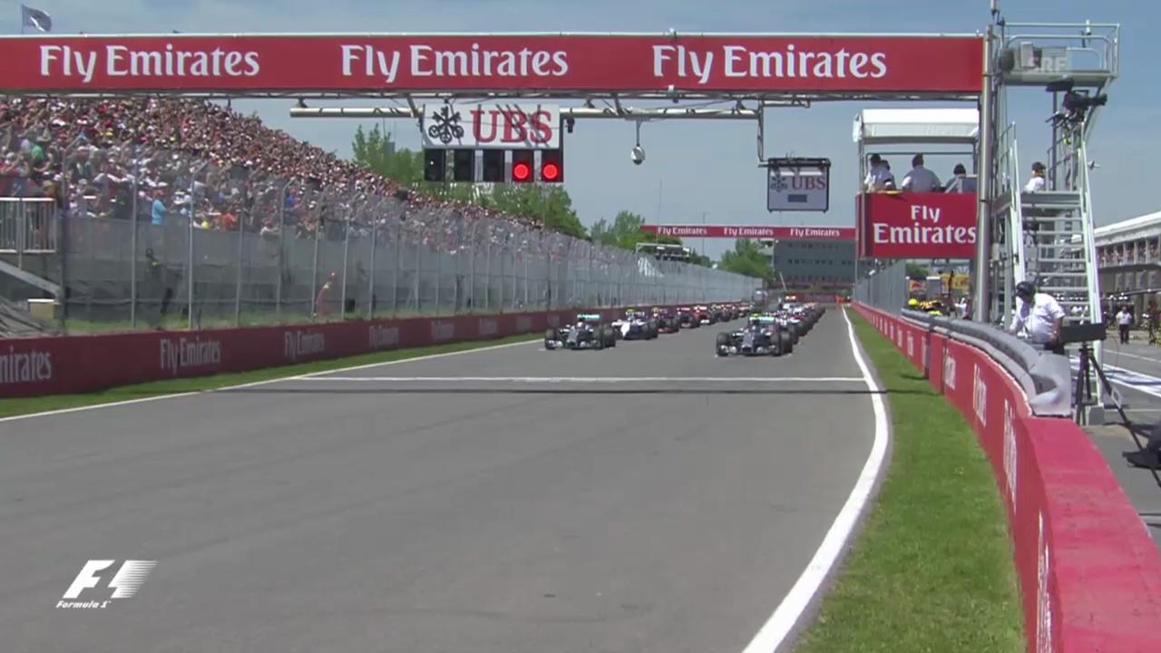 Formel 1: GP Kanada, entscheidende Szenen