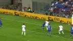 Video «Italien schlägt Israel knapp» abspielen
