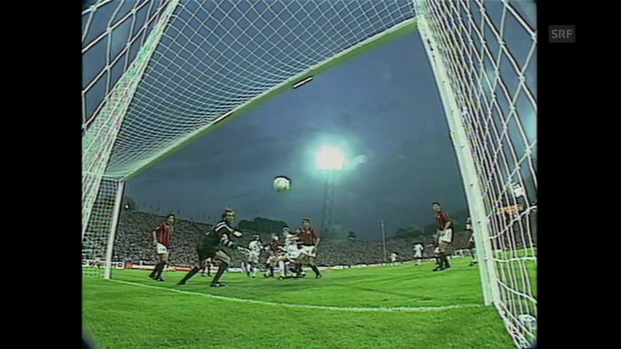 CL-Final 1993: Das Siegestor von Basile Boli