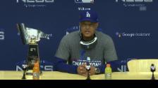 Link öffnet eine Lightbox. Video Dodgers-Manager hat «gute Erinnerungen an den Fenway Park» abspielen