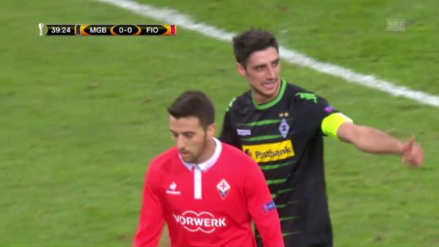 Video «Zusammenfassung Gladbach - Fiorentina» abspielen