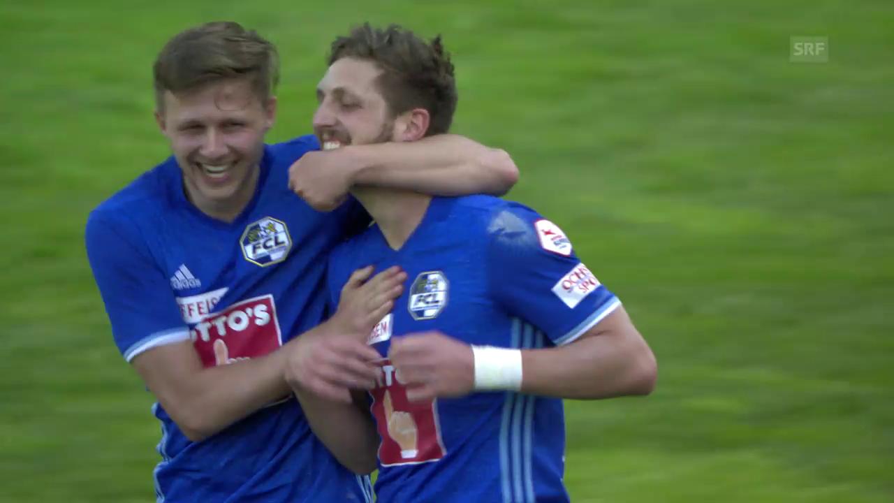 Der FCL gewinnt dank Last-Minute-Goal
