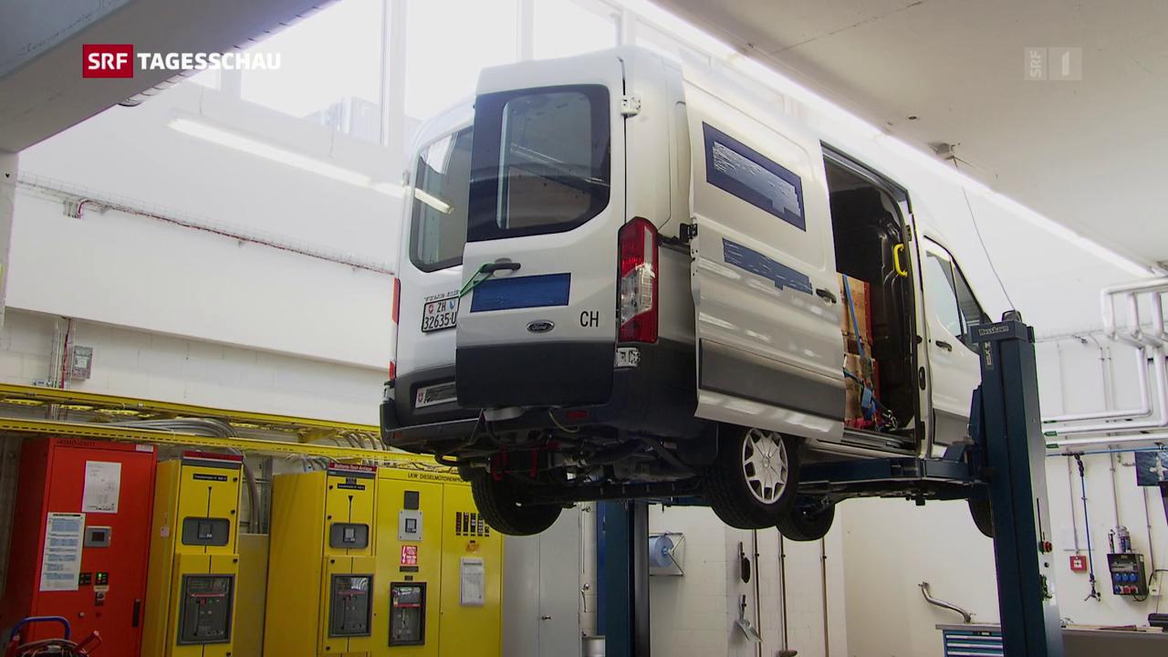 Überraschende Ergebnisse bei grossen Dieselfahrzeugen